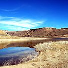 Desert Lakes by Vendla
