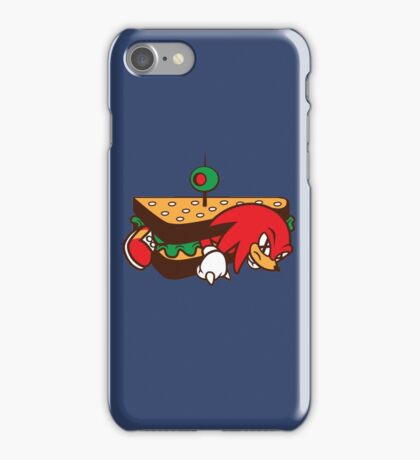 KNUCKLES SANDWICH iPhone Case/Skin