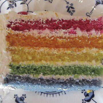 A Slice Of Rainbow by lezvee