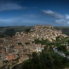 Panoramic view of Ragusa Ibla by Andrea Rapisarda