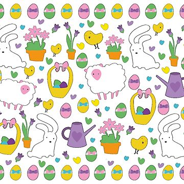 Cute Easter pattern by ValentinaHramov