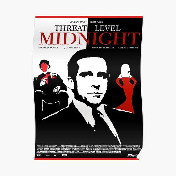 Threat Level Midnight Movie Poster -  Poster