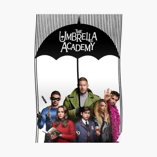 THE UMBRELLA ACADEMY MERCH Poster