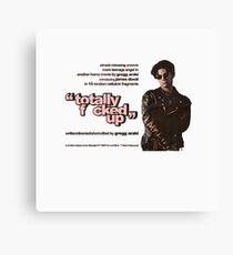 Totally F cked Up -   Canvas Print
