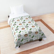 Rick and Morty space adventure Comforter