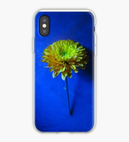 Blooming Blues iPhone Case