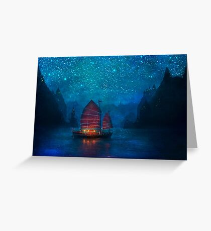 Our Secret Harbor Greeting Card