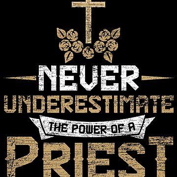 Priest faith by GeschenkIdee