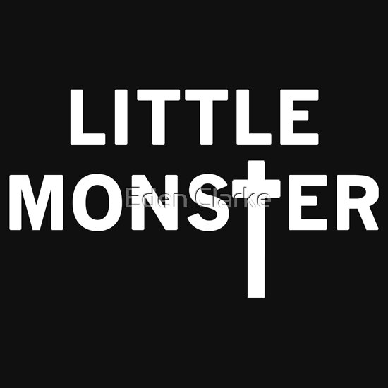 TShirtGifter presents: little monster (2)