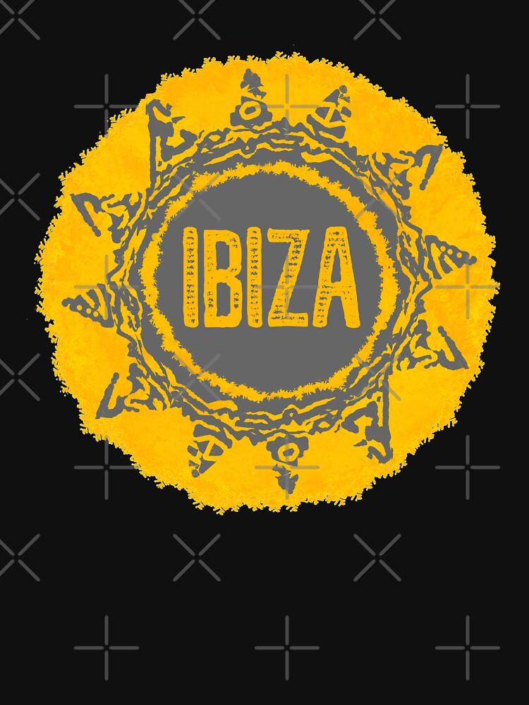 Ibiza Sonne von Periartwork