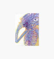 Die mühsame Aufgabe der Transmutation - Psychedelische Aquarellmalerei Galeriedruck