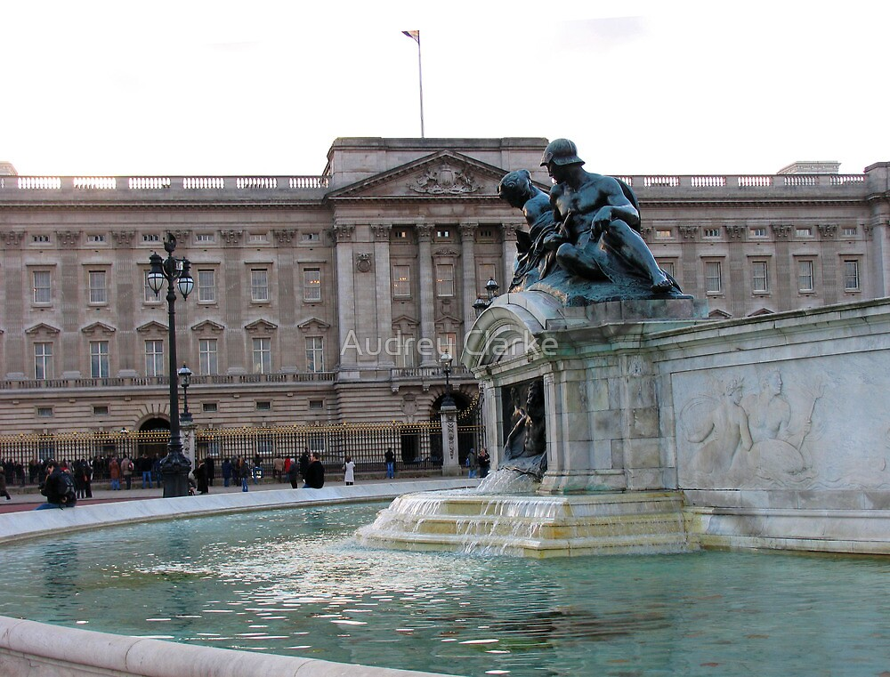Buckingham Palace by Audrey Clarke