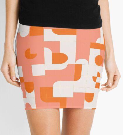 Puzzle Tiles #redbubble #pattern Mini Skirt