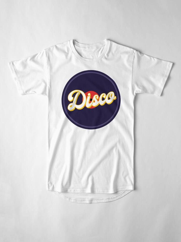 Vista alternativa de Camiseta larga DISCO FEVER