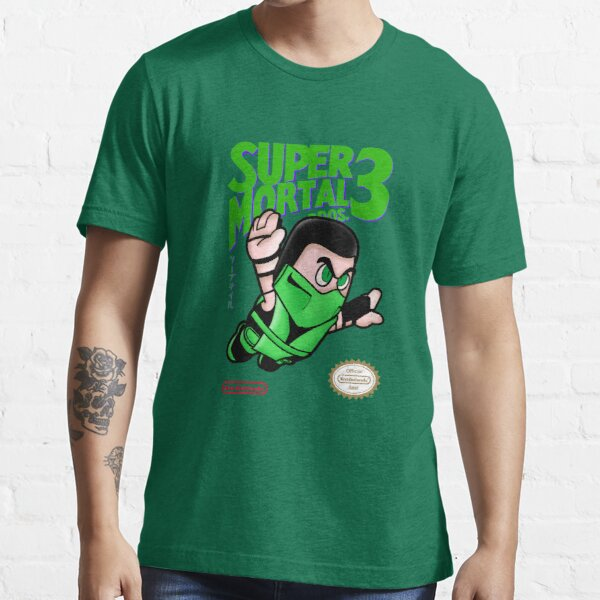 Super Mortal Bros. 3 - Reptile Essential T-Shirt