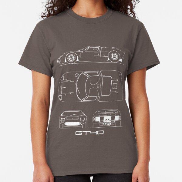 The GT40 Blueprint Classic T-Shirt