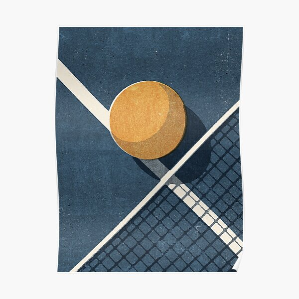 BALLS / Table Tennis Poster