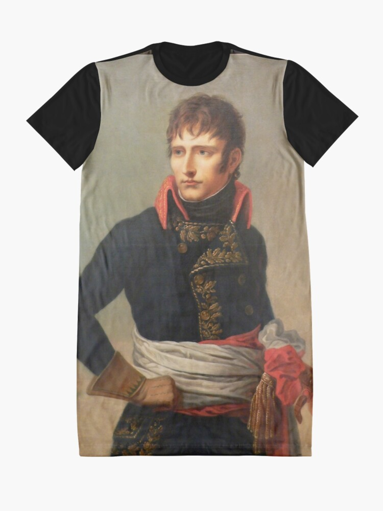Alternate view of Young Napoleon Bonaparte Graphic T-Shirt Dress