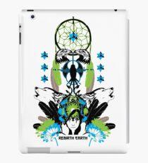 Rebirth Earth - Vector Design iPad Case/Skin