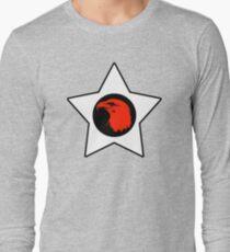 Bald Eagle (Red) T-Shirt Long Sleeve T-Shirt