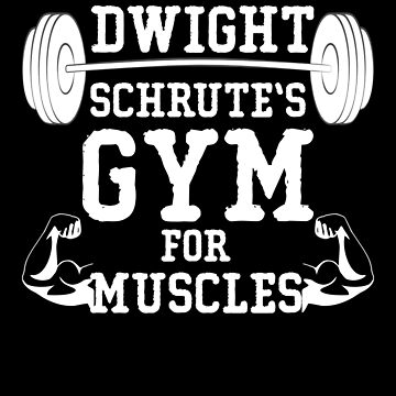 Dwight Schrute's Gym for Muscles by birdeyes