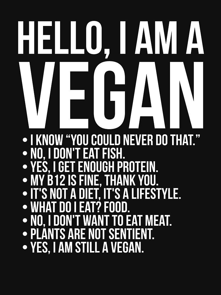 Funny Pro Vegan Activism Animal Lover Vegetarian by MadsJakobsen