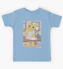 IS THAT CAT A WRITER? Kids Tee
