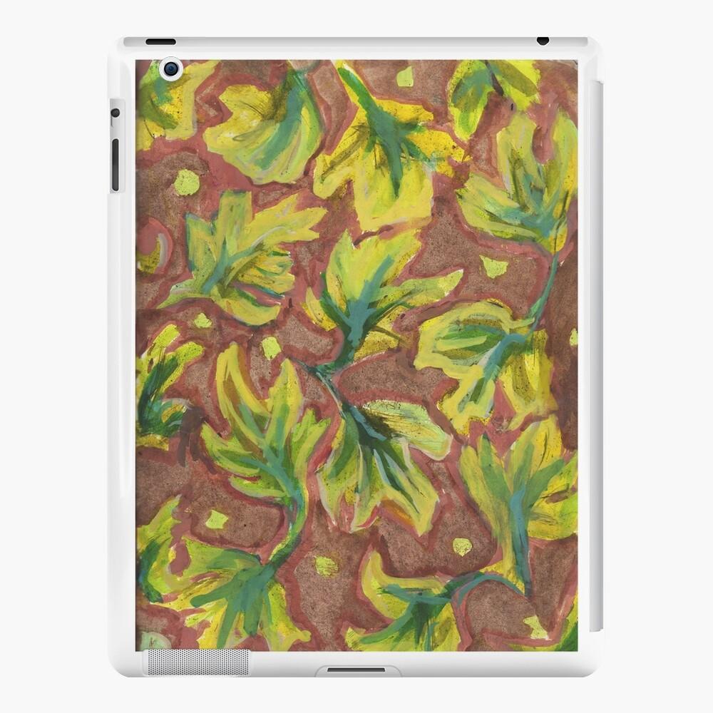 Swirling Leaves Funda y vinilo para iPad