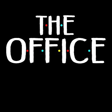 The Office logo In The Style Of Friends by birdeyes