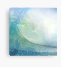 Pastel wave Canvas Print
