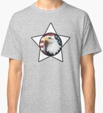 Bald Eagle & White Star T-Shirt Classic T-Shirt