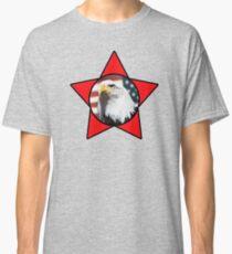 Bald Eagle & Red Star T-Shirt Classic T-Shirt