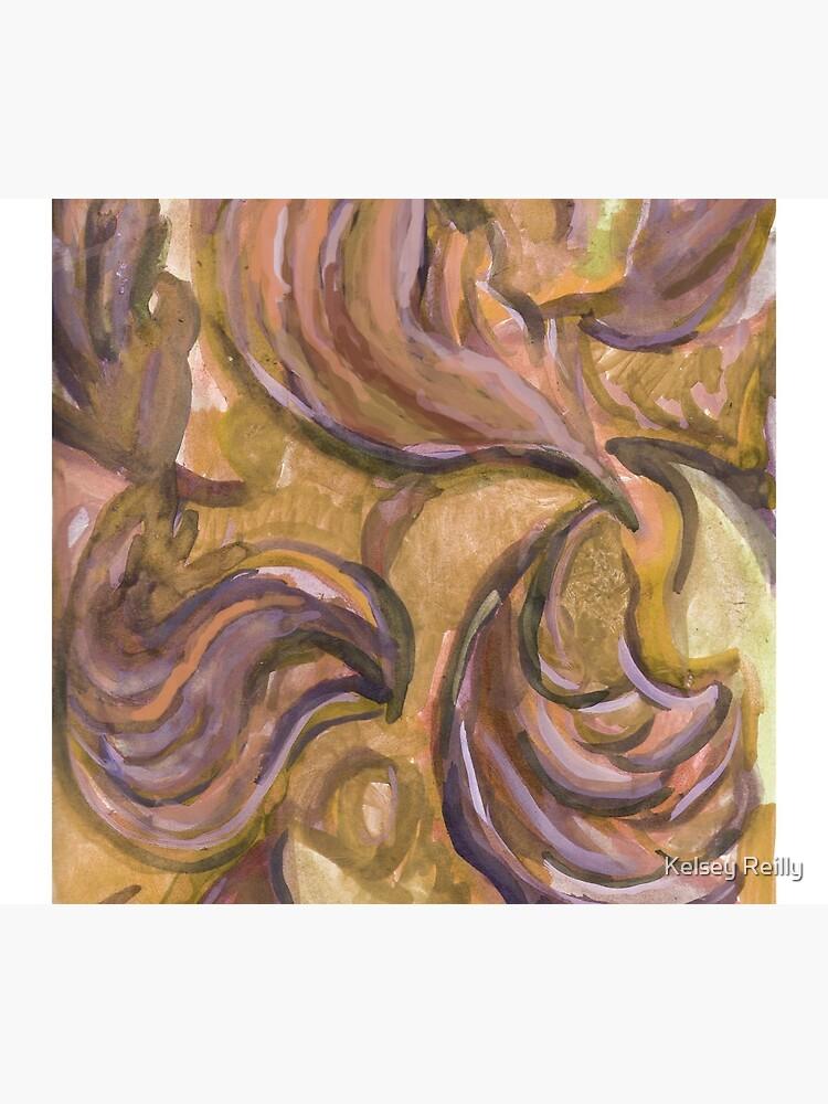 Fancey Swirling Leaves de Kelseypaintz