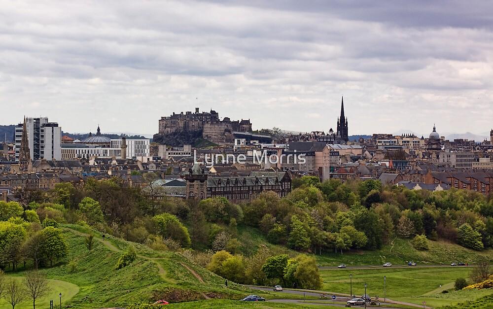 Edinburgh Castle by Lynne Morris