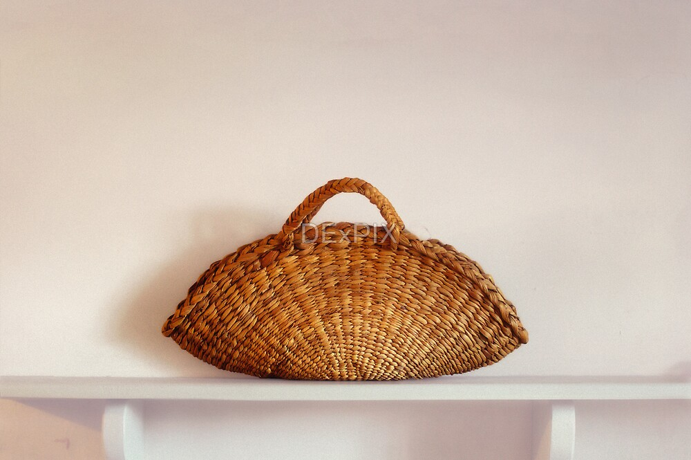 Wicker Basket by DExPIX