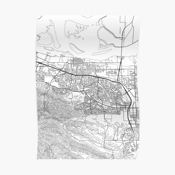 Antioch map poster print wall art, California gift printable, Home and Nursery, Modern map decor for office, Map Art, Map Gifts Poster