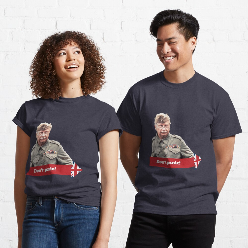 Dad's Army - Don't Panic Classic T-Shirt