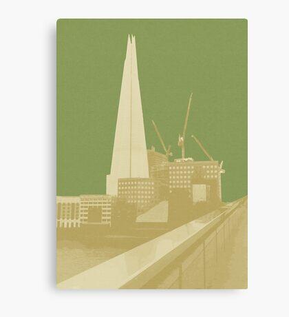 London Fruit Pop Series - Apple Shard Canvas Print