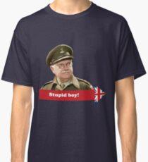 Dad's Army - Stupid Boy! Classic T-Shirt