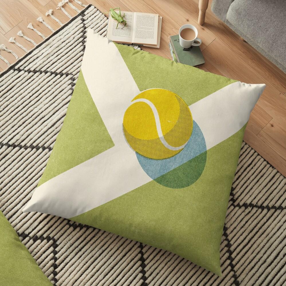 BALLS / Tennis (Grass Court) Floor Pillow
