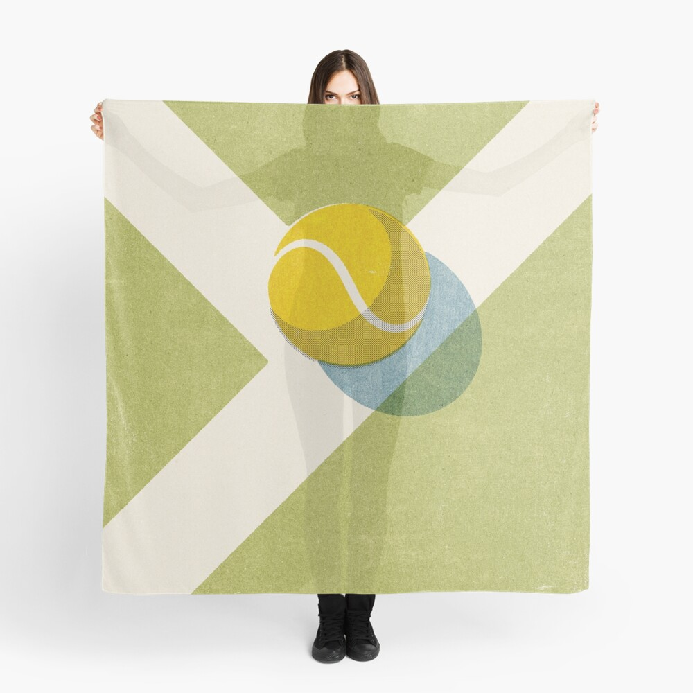 BALLS / Tennis (Grass Court) Scarf