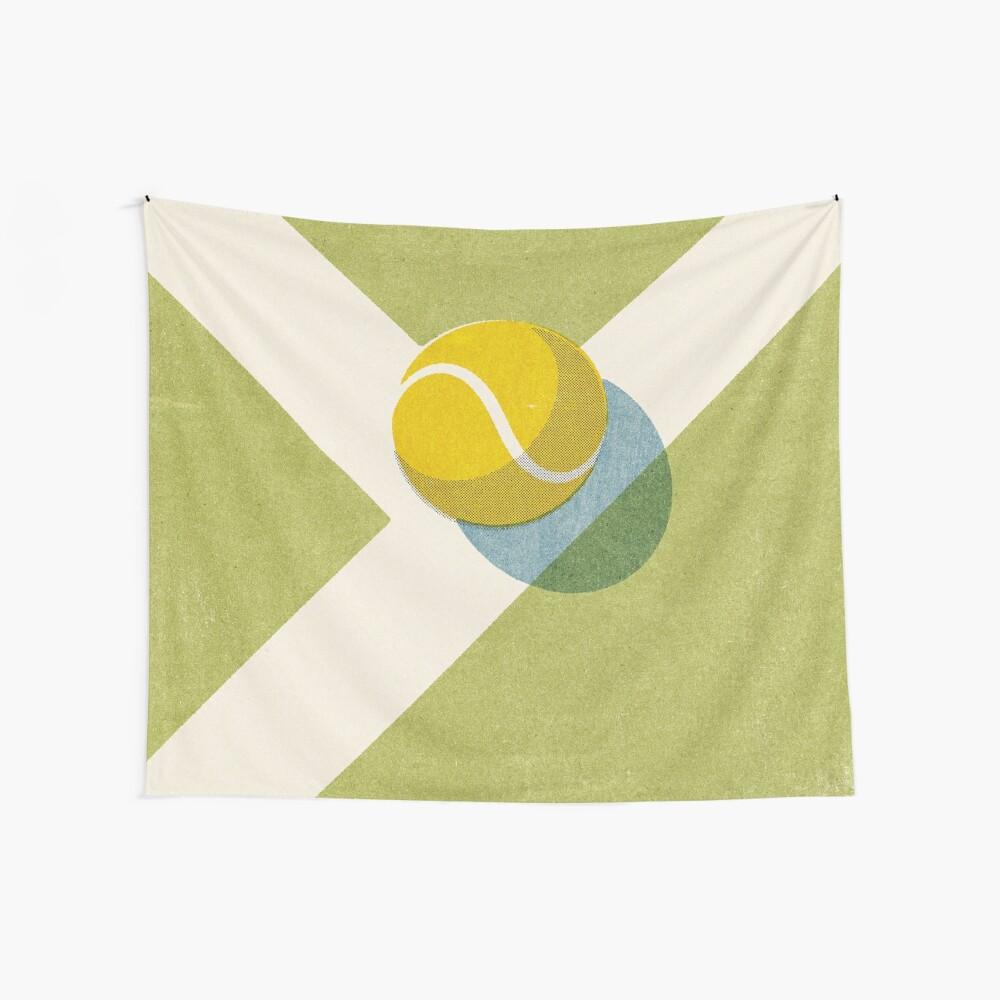 BALLS / Tennis (Grass Court) Wall Tapestry