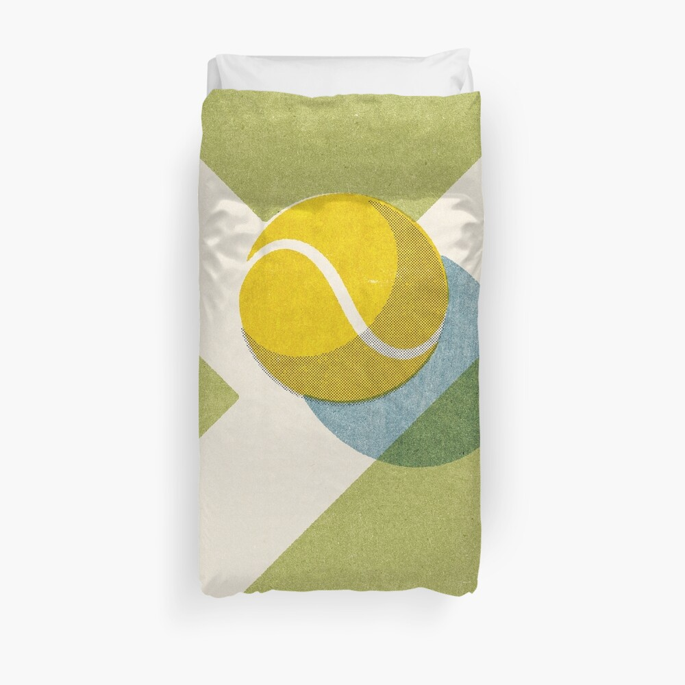 BALLS / Tennis (Grass Court) Duvet Cover