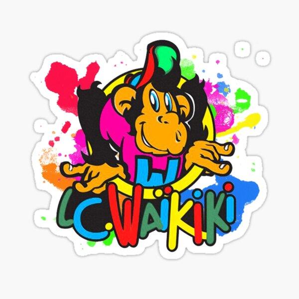 Logo coloré de Waikiki Sticker