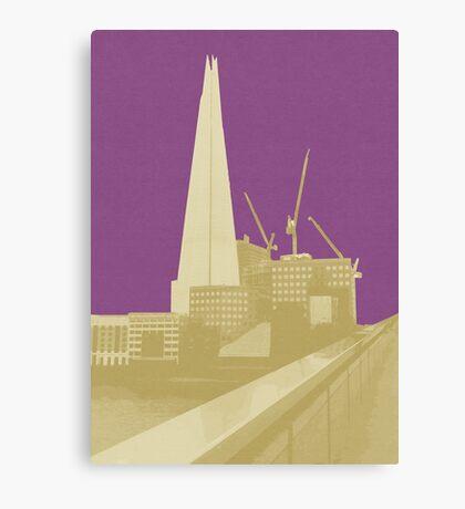 London Fruit Pop Series - Plum Shard Canvas Print