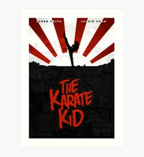 KARATE KID (2010) Movie Poster Design Art Print