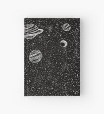 Black Space Hardcover Journal