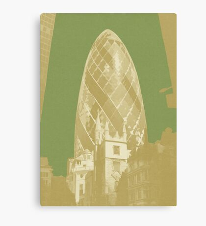London Fruit Pop Series - Apple Pickle Canvas Print