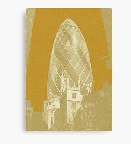 London Fruit Pop Series - Apricot Pickle Canvas Print