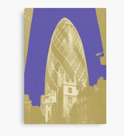 London Fruit Pop Series - Blueberry Pickle Canvas Print